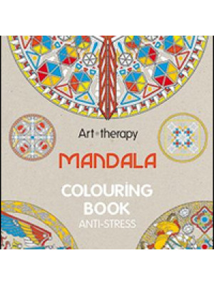 Art therapy. Mandala. Colouring book anti-stress